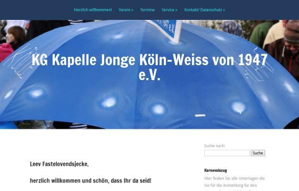 Vorschau von www.kapellejonge.de, K.G.