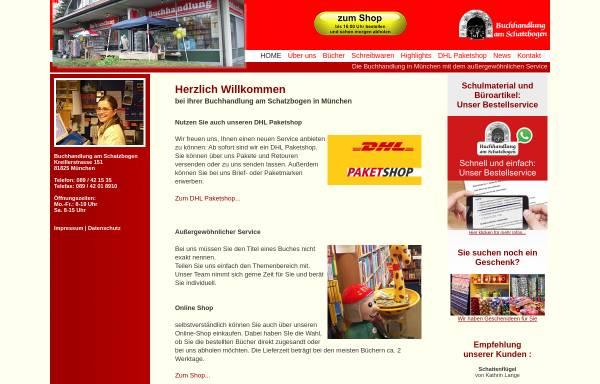 Vorschau von www.buch-scheungraber.de, Buchhandlung am Schatzbogen
