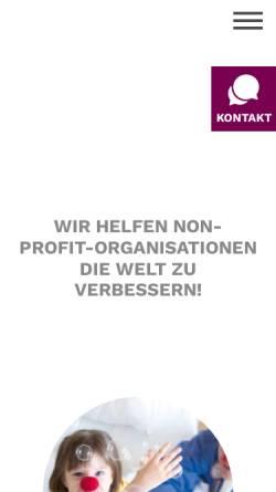 Vorschau der mobilen Webseite www.saz.at, SAZ Marketing Services GmbH