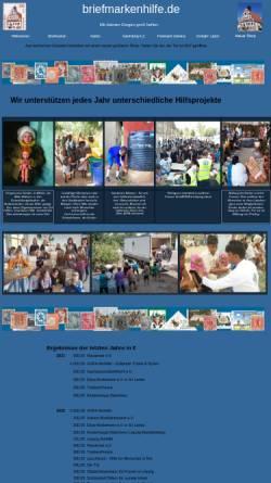 Vorschau der mobilen Webseite www.briefmarkenhilfe.de, Briefmarkenhilfe Grimma