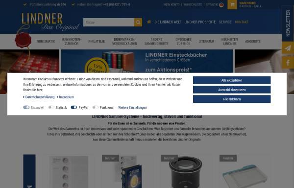 Vorschau von www.lindner-original.de, Lindner-Falzlos GmbH