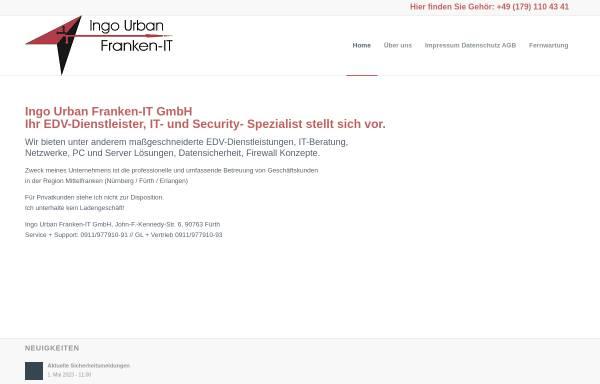 Vorschau von www.franken-it.de, Franken-IT - Netzwerke, EDV-Dienstleistungen