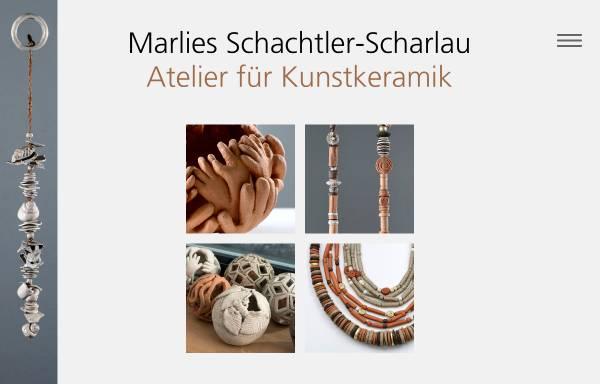 Vorschau von www.keraschachtler.ch, Atelier für Kunstkeramik Marlies Schatler-Scharlau