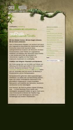 Vorschau der mobilen Webseite cerareptilia.de, Cerareptilia