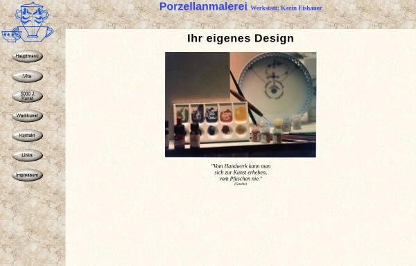 Vorschau von www.porcelain-design.de, Eishauer, Karin