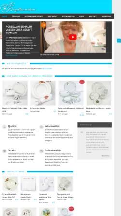 Vorschau der mobilen Webseite www.porzellanmalerei-hps.de, HPS Porzellanmalerei