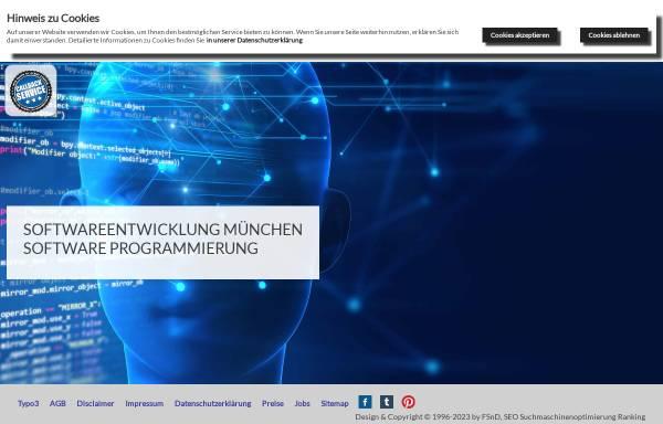 Vorschau von www.fsnd.de, FSnD Fredrick's -Software Network & Design