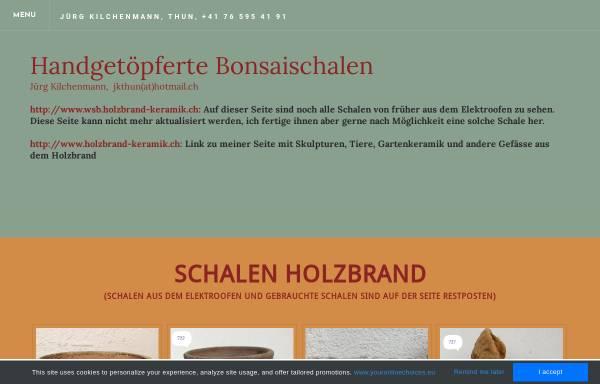 Vorschau von www.bonsaischalen.ch, Jürg, Kilchenmann