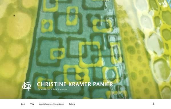 Vorschau von www.christinekramerpanier.com, Kramer Panier, Christine