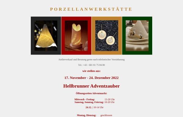 Vorschau von www.fradl.com, Porzellanwerkstätte Peter und Christa Fradl