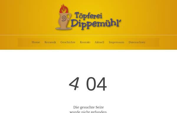 Vorschau von www.toepferei-dippemuehl.de, Töpferei Dippemühl