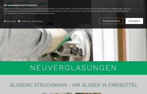 Vorschau von www.glaserei-struckmann.de, Glaserei Struckmann