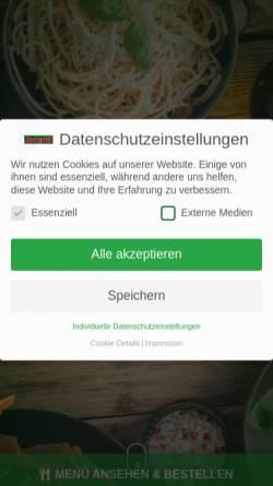 Vorschau der mobilen Webseite www.avanti-online.de, Avanti -Speisenheimservice