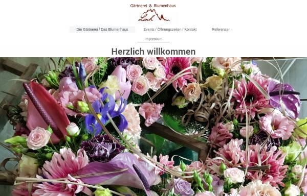Vorschau von gaertnerei-link.de, Blumenhaus und Gärtnerei Link