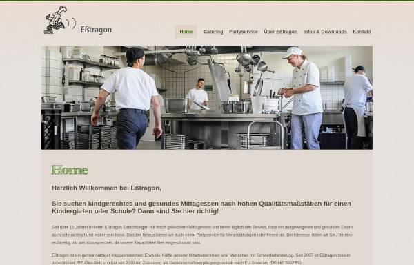Vorschau von www.esstragon.de, Eßtragon