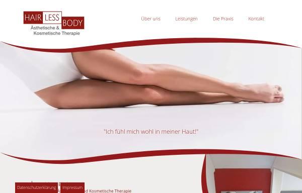 Vorschau von www.hairless-body.de, Hairless Body