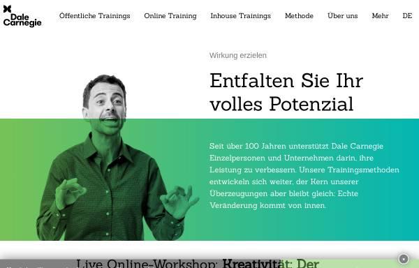 Vorschau von dalecarnegie.ch, Dale Carnegie Training