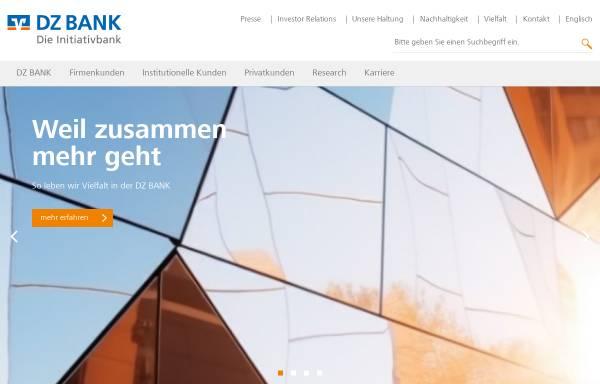 Vorschau von www.dzbank.de, DZ Bank