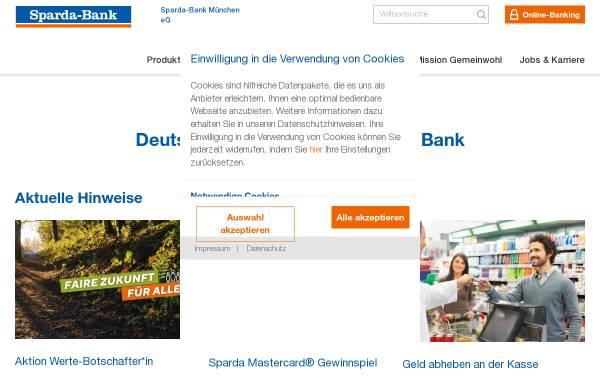 Vorschau von www.sparda-m.de, Sparda-Bank München eG