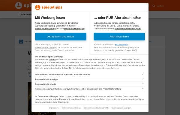 Vorschau von wow.gamona.de, WorldOfWar.de
