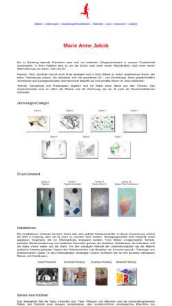 Vorschau der mobilen Webseite www.majakob.de, Jakob, Marie Anne