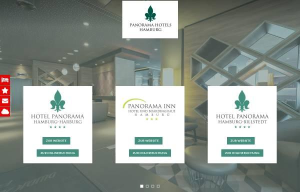 Vorschau von www.panorama-hotels-hamburg.de, Hotel-Panorama-Inn Billstedt und Harbung