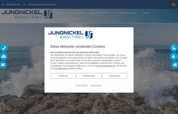 Vorschau von www.jungnickel-sanitaer.de, Jungnickel Sanitär GmbH