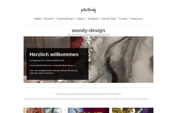 Vorschau von woody-design.de, Petra Woody - Atelier für Kostümdesign