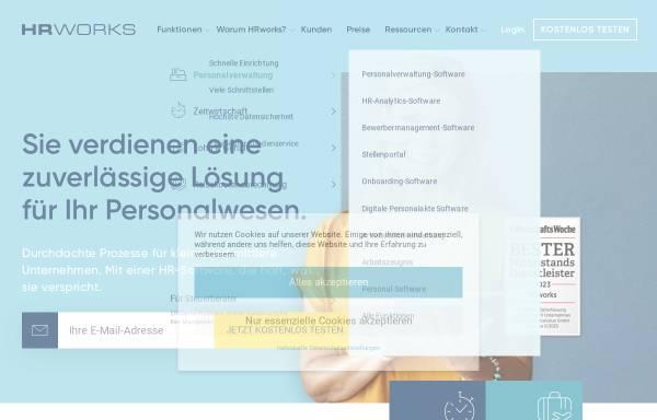 Vorschau von www.hrworks.de, HRworks GmbH