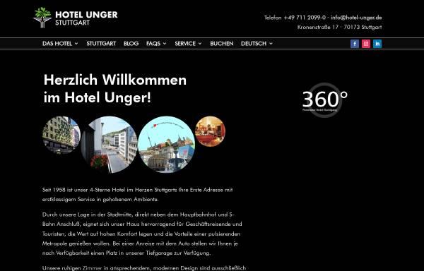 Vorschau von www.hotel-unger.de, Hotel Garni Unger
