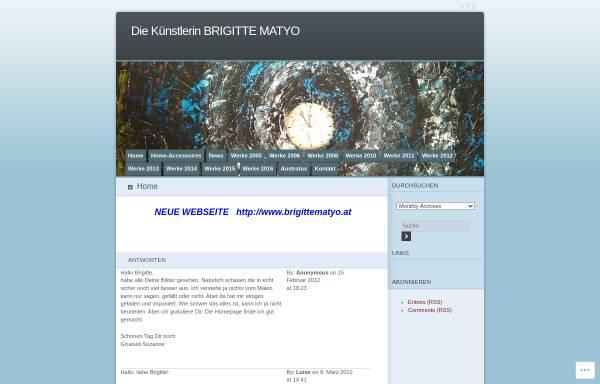 Vorschau von brigittematyo.wordpress.com, Austrotux - Brigitte Matyo
