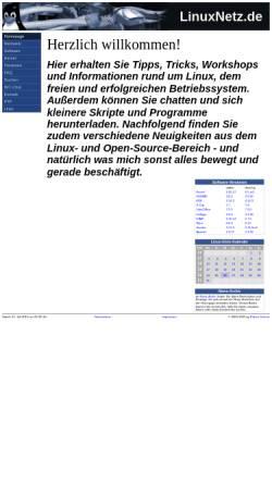 Vorschau der mobilen Webseite www.linuxnetz.de, LinuxNetz.de