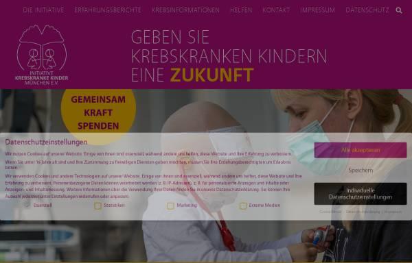 Krebs bei Kindern - Elterninitiative krebskranke Kinder München e.V. ...