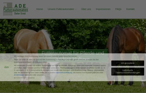 Vorschau von www.futterautomaten.com, ADE - Dieter Ernst
