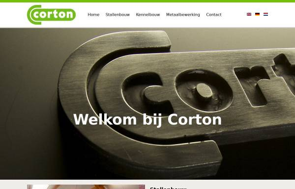 Vorschau von www.corton.nl, Corton Pferdeboxen
