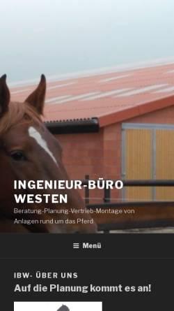 Vorschau der mobilen Webseite www.ibw-info.de, IBW