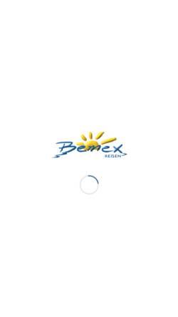 Vorschau der mobilen Webseite www.bemex.de, Bemex Reisen