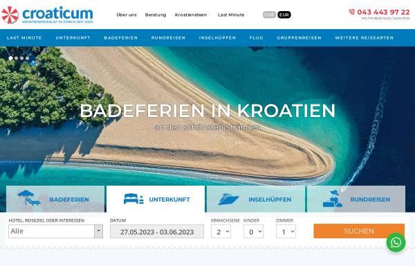 Vorschau von www.croaticum.ch, Croaticum
