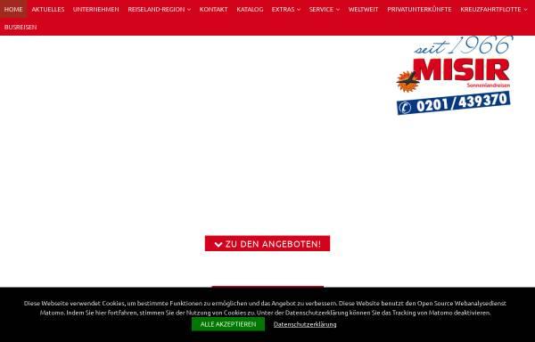 Vorschau von www.kroatien-misir.de, Misir Sonnenlandreisen