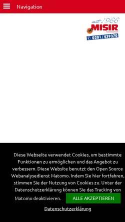Vorschau der mobilen Webseite www.kroatien-misir.de, Misir Sonnenlandreisen