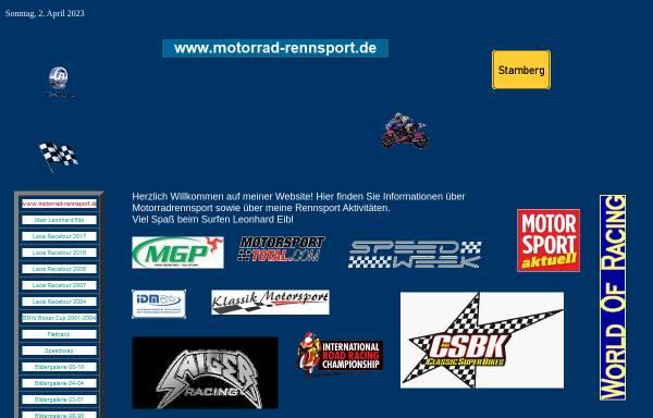 Vorschau von www.motorrad-rennsport.de, Eibl, Leonhard