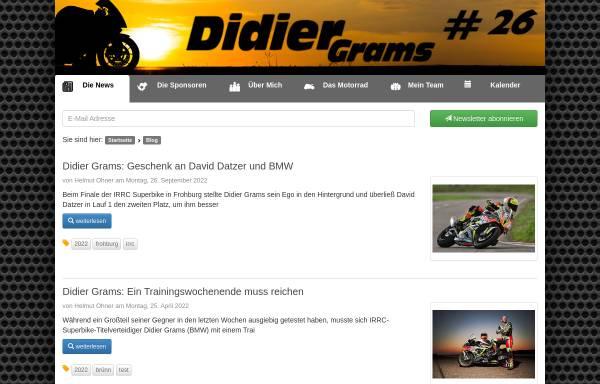 Vorschau von didiergrams.de, Grams, Didier