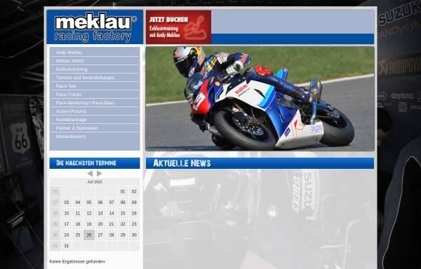 Vorschau von www.meklau-racing.com, Meklau, Andy