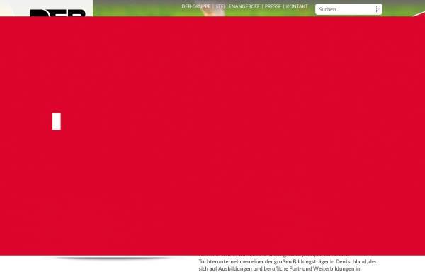 Vorschau von www.deb.de, Deutsches Erwachsenen-Bildungswerk gGmbH (DEB)