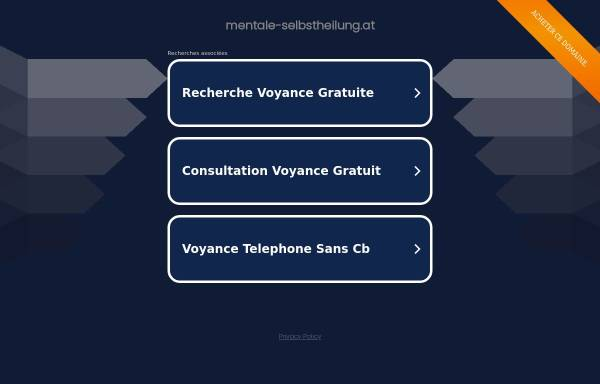 Vorschau von www.mentale-selbstheilung.at, Mentale Selbstheilung