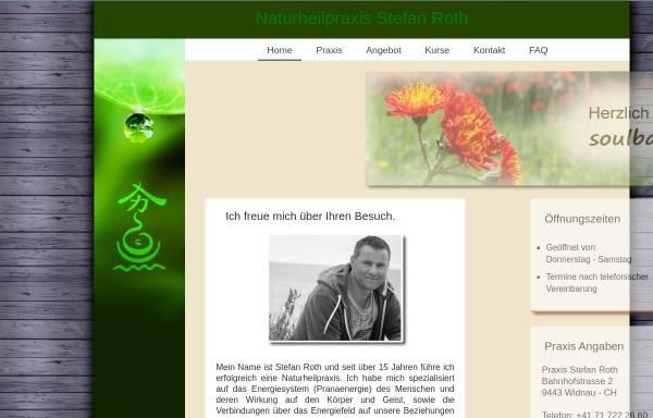 Vorschau von www.pranatherapie.ch, Naturheilpraxis Stefan Roth