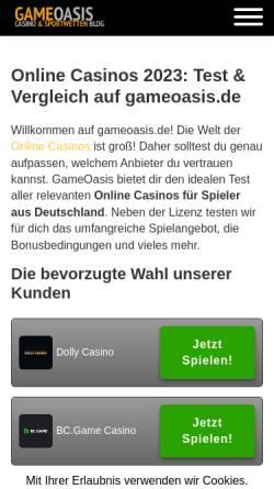 Vorschau der mobilen Webseite www.prana-verein-magdeburg.de, Prana Verein Magdeburg e. V.