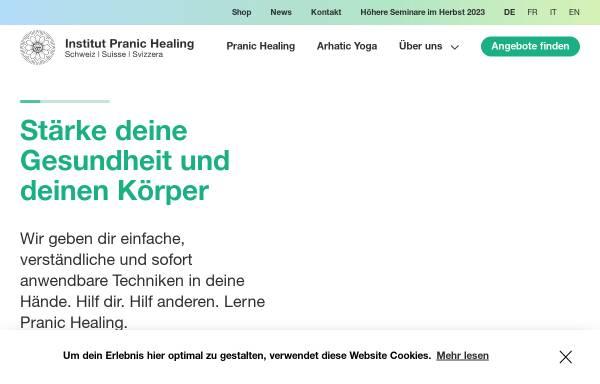 Vorschau von www.pranichealing.ch, Pranic Healing Schweiz