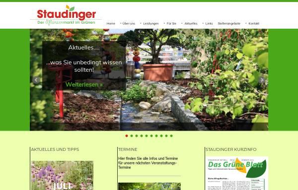 Vorschau von www.staudinger-pflanzen.de, Staudinger Pflanzenmarkt