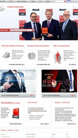 Vorschau der mobilen Webseite www.d3gmbh.de, d 3 - Consulting, Training, Coaching